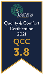 QCC (Quality and Comfort Certification) Rating 3.8