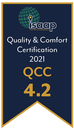 QCC (Quality and Comfort Certification) Rating 4.2