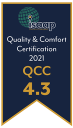 QCC (Quality and Comfort Certification) Rating 4.3